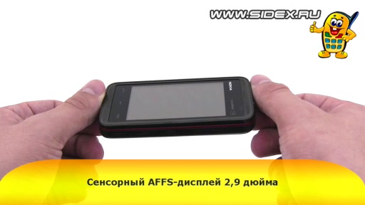 Видеообзор Nokia 5530 XpressMusic (Black Red)